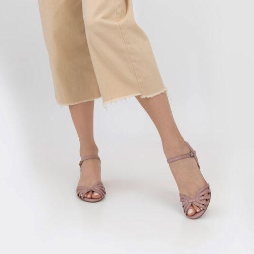 בלעדי לאתר: דגם פניני- סנדלי רצועות פיפ טואו