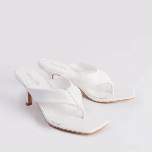 דגם ג'אני- נעלי אצבע קלאסיות על עקב