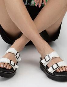 דגם וירג'יניה- כפפכי רצועות עם אבזמים