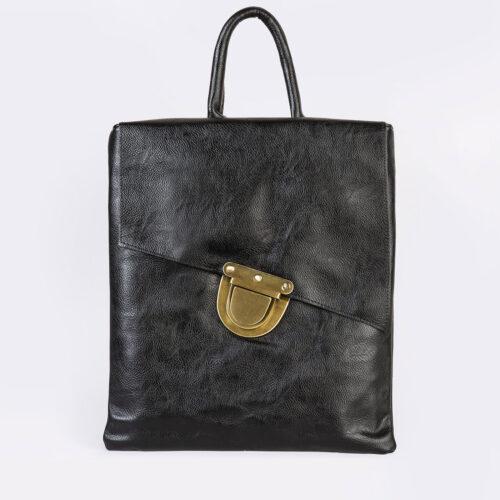 דגם סביון- תיק גב עם אבזם בצורת מנעול