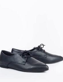 דגם אוסנת - נעלי אוקספורד טבעוניות עם שרוכים