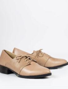 בלעדי לאתר: דגם עינב - נעלי אוקספורד עם שרוכים
