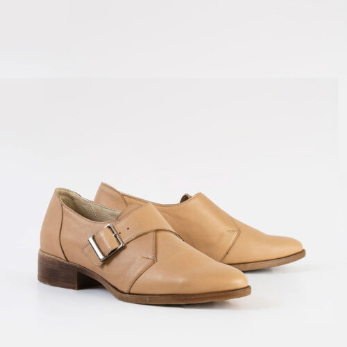 בלעדי לאתר: דגם מרום - נעלי אוקספורד עם אבזם