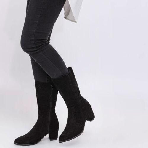 דגם רינה - מגפיים עם כיווצים