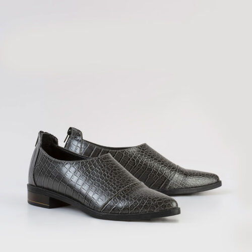 דגם ליאור- נעלי אוקספורד עם רוכסן אחורי